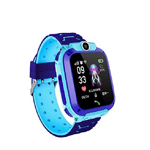 スマートウォッチ 子供 HCGS 子供用スマートウォッチSOSPhone Watch Smartwatch For Kids With Sim CardPhoto防水IP67キッズギフト