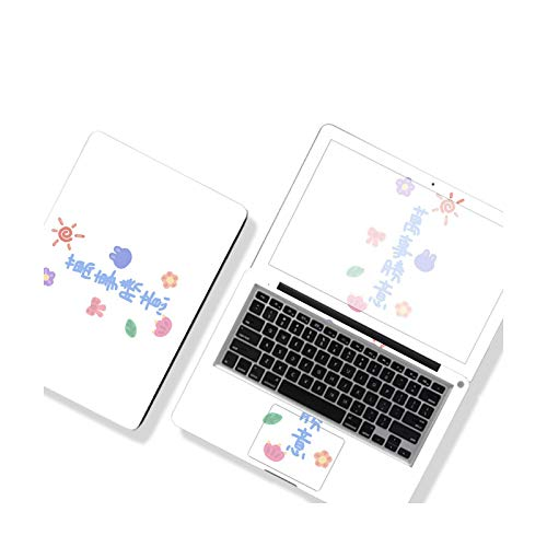 DIY Texto cubierta cubierta cubierta cubierta cubierta cubierta cubierta cubierta cubierta de portátil 12'' 13'' 14'' 15'' 17' para Dell/Lenovo/HP/Huawei/ASUS, Etc.-CT-530-15'