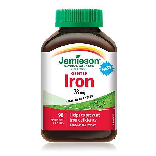 Jamieson Gentle Iron, 28mg, 90 Count