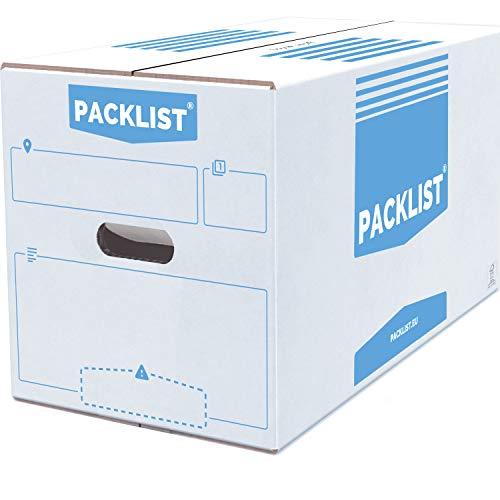 Cajas De Mudanzas Carton 60X40X40 Marca PACKLIST