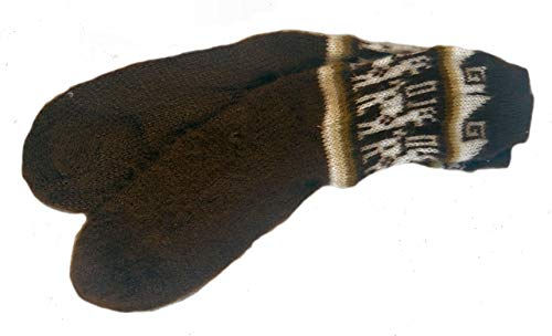 Terrapin Trading Fair Trade Unisex bolivianischen weiche Alpaka Woll Wollsocken SIZE 4-9 für Mann oder eine Frau