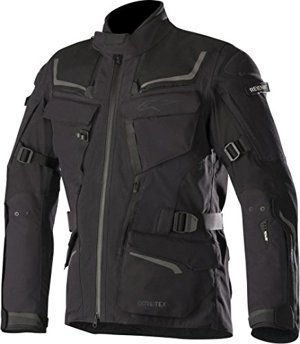 Alpinestars Chaqueta moto Revenant Gore-tex Pro Jacket Tech-air Compatible Black, Negro, 4XL