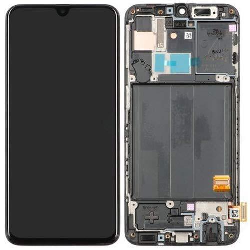 Handyteile24 GH82-19672A - Display touchscreen per Samsung Galaxy A40, A405F, colore: nero