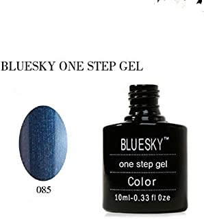 Bluesky One Step UVLED esmalte de uñas de gel color azul 10ml