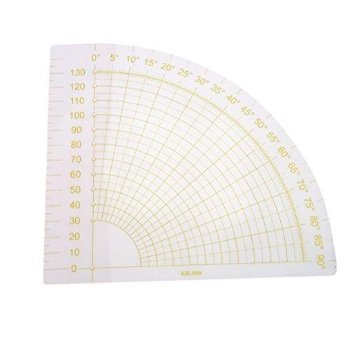 Healifty Righello Quilting per Cucito patchwork righello settore fai da te modello acrilico accessori per il cucito