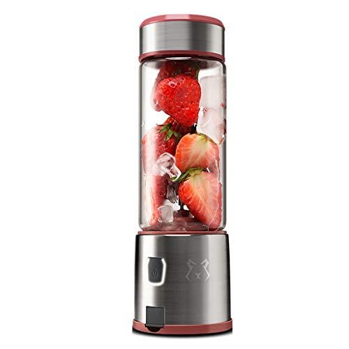 Mehe@ Mélangeur personnel, Mélangeur de fruits, Mini-tasse de fruits rechargeable multifonction, Facile à transporter, Mélangeur personnel domestique 450ml (Couleur : B)