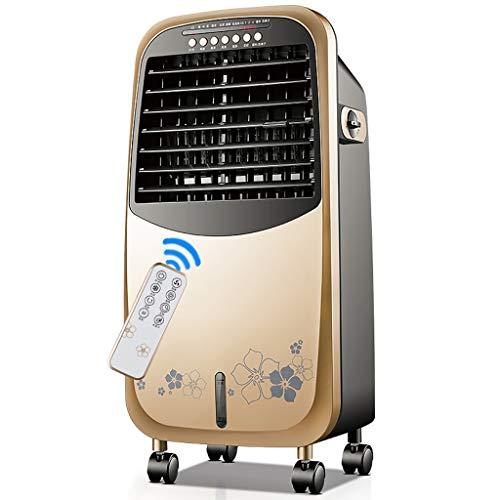 Air-conditioning fan-Jack Portable 4-in-1Golden Verdunstungskühler mit Heizlüfter, Luftbefeuchter und Luftreiniger Funktionen