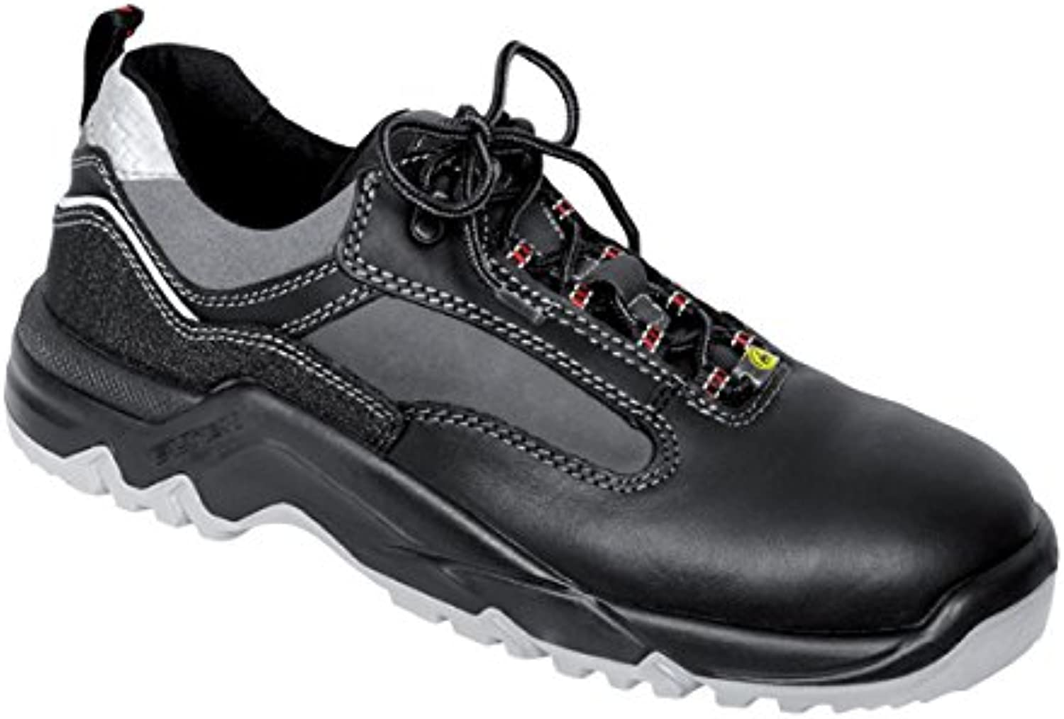 Elten 2726251-51 Safety shoes Len  ESD S3, Size 14.5, Black Grey