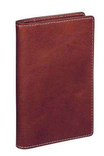 レイメイ藤井 システム手帳 ダヴィンチ オイルレザー ポケット ブラウン JDP606C