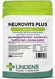 Lindens - Neurovits Plus (B12 500mg + B1, B6, acide folique) - 90 tabs