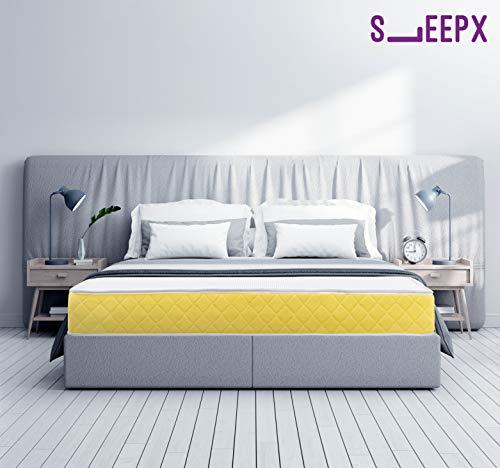 SleepX Urbain Memory Foam Mattress - (78x60x7 Inches) with Free Pillows