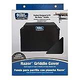 Blue Rhino 916729 48.5-in x 34-in Black Peva Gas Grill Cover
