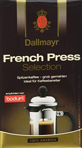 Dallmayr Kaffee French Press 250g Selection Filterkaffee, gemahlen (1 x 250 g)