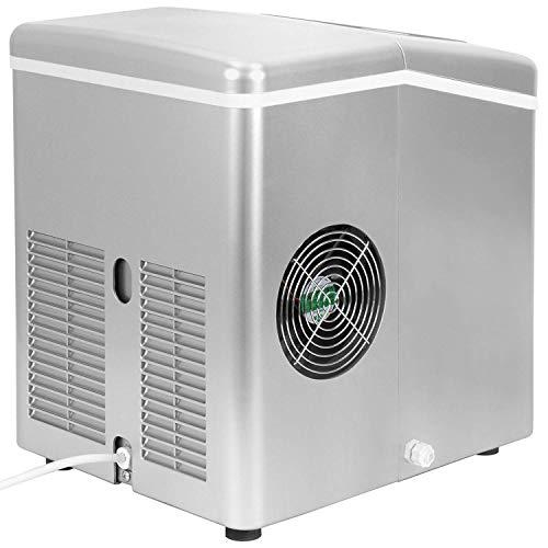 ThinkGizmos – Meilleure machine à glaçons pour la maison - Une machine à glace portable à poser sur votre plan de travail, permettant de produire 15 kg de glaçons en 24 h - Ice maker