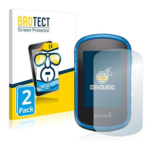 brotect Pellicola Protettiva Compatibile con Garmin eTrex Touch 35 Pellicola Trasparente (2 Pezzi) Anti-Impronte