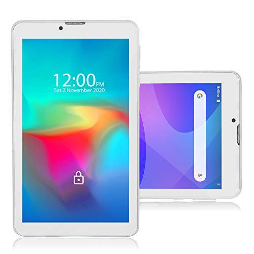 Indigi 2-in-1 Phablet 7-inch Android 9 Pie Tablet 4G LTE Smart Phone (Quad-Core, 2GB RAM / 16GB Storage (Expandable with microSD) - GSM Unlocked AT&T T-Mobile (White)