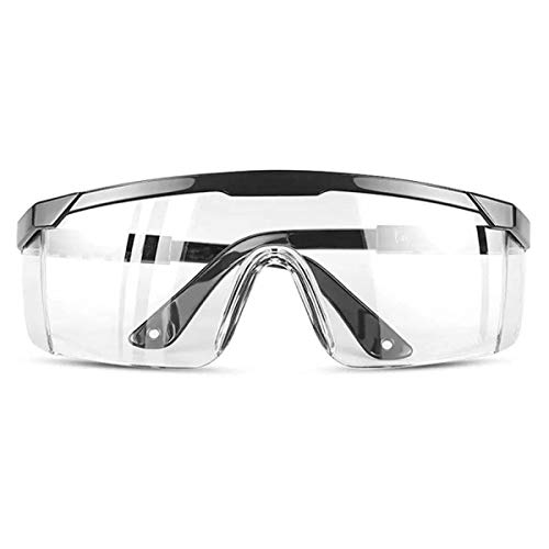 Safety glasses Industrial Goggles with Anti-fog Lens, Clear Safety glasses with Anti-Scratch UV400 protection Lens Goggles Eyeglasses