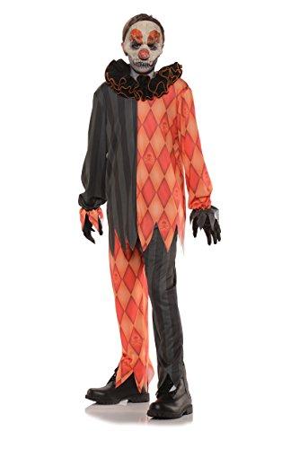 Disfraz de payaso asesino para adultos para Halloween