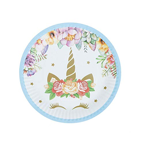 Paper Plate Plates Paper Tray Baby Shower Birthday Decors Kids Party Supplies Eyelash Par