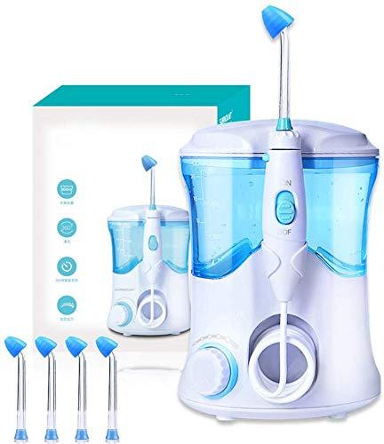 LLDKA Eléctrico Nasenspülgerät Gran Volumen Nasenspülbecken3 Minutos sincronización Inteligente para Adultos y niños con Cuatro boquillas 600 ml