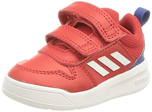 adidas Tensaur,  Road Running Shoe Unisex bebé,  Scarlet/Cloud White/Team Royal Blue,  25 EU