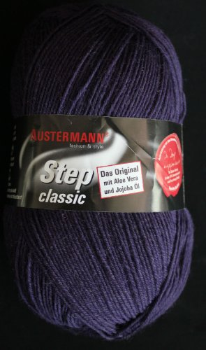 Austermann Step Lana para calcetines con aloe vera /& Aceite de Jojoba 219