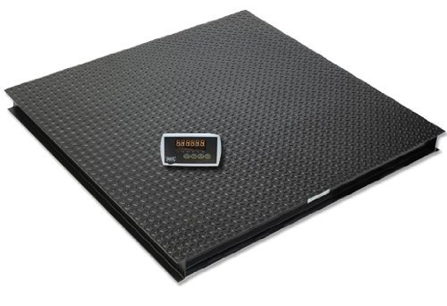 """40""""x40"""" 9500lbs floor scale pallet scale for standard pallet;NEW 9500LB 40""""X40"""" FLOOR/PALLET SCALE W/IND"""