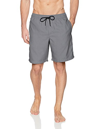 Amazon Essentials Herren Badeshort grau anthrazit M