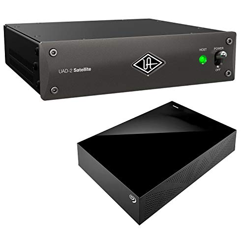 Universal Audio UAD-2 Satellite Thunderbolt OCTO Core, Seagate Desktop 8TB External Hard Drive Bundle