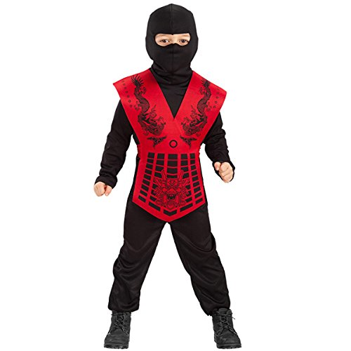 Costume de NINJA enfant - Garcon 6/7 ans - Deguisement Halloween - 120