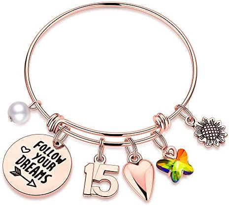 M MOOHAM 15th Birthday Gifts for Teen Girls 15 Year Old Birthday Gifts for Daughter Granddaughter product image