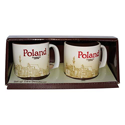 Starbucks - Juego de tazas de café Polonia, diseño de Polonia
