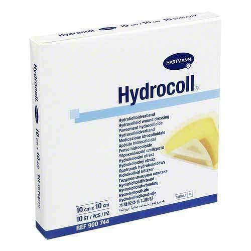 HYDROCOLL Wundverband 10x10 cm 10 St Verband