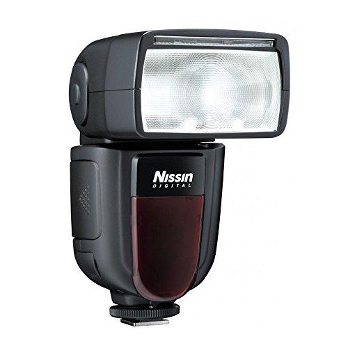 Nissin Di700a Flash, Senza Rilascio di Otturatore per Nikon, Nero