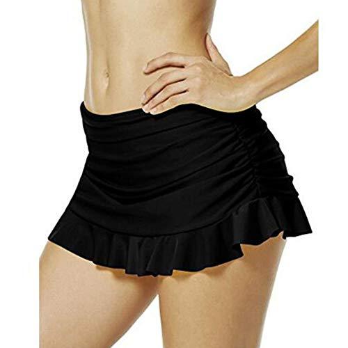 Protección UV para Mujer Pantalones De Natación Cortos Bikini De Moda Completi Playa Faldas Minifalda Corta Falda Color Sólido EU 34 EU 48 Traje De Baño De Moda para Mujer Traje De Baño De Playa