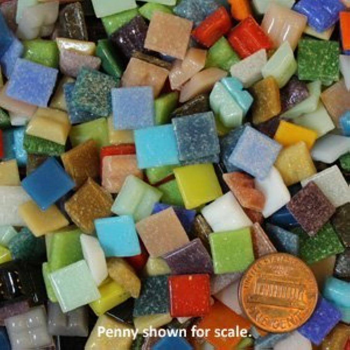 Rainbow Mix Mini Glass Mosaic Tiles 1 Pound