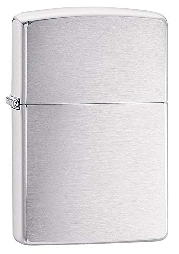 Zippo Brushed Chrome Pocket Lighter