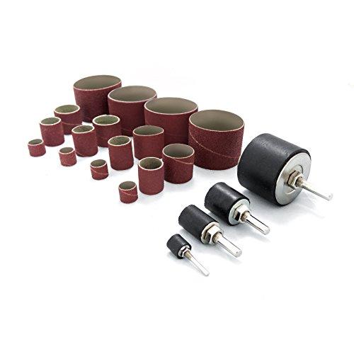 POWERTEC 11300 Sanding Drum Kit, 20 Pack