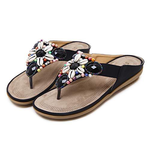 Sandalias de Dedo Mujer