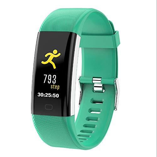 Alvnd Smart Armband IP68 Waterdichte Hartslagmeter Fitness Armband Bloeddruk Monitoring Horloge Geschikt voor Apple iOS Android