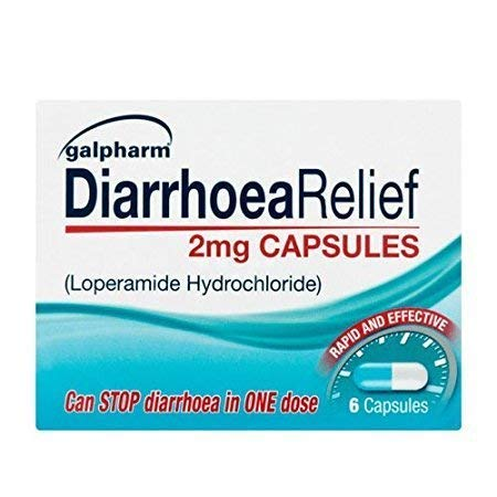 3 x 6 Galpharm Diarrhoea Relief 2mg Capsules