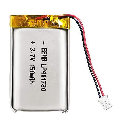 EEMB 3.7V Lipo Batería 150mAh 401730 Batería de Iones de polímero de Litio Batería de polímero de Iones de Litio Recargable PCS con Conector Molex UN38.3