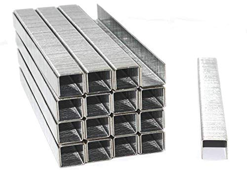 5000 Tackerklammern 24/6 Standard Handtackerklammern verzinkt/Heftklammern/Tacker-Klammern
