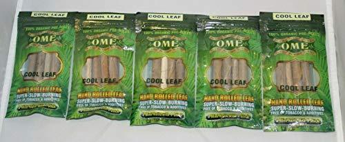 OME Palm 5 Packs Natural Leaf Wraps 15 Rolls Cool Leaf King