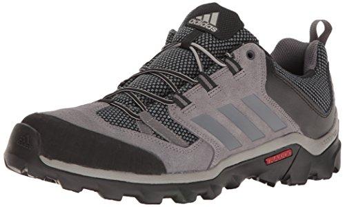 adidas outdoor Men's Caprock Hiking Shoe, Granite/Vista Grey/Black, 10 M US