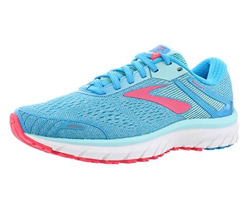 Brooks Adrenaline Gts 18, Womens Running Running Shoes, Turquoise (Blue/Mint/Pink 1B408), 3.5 UK (36 EU)