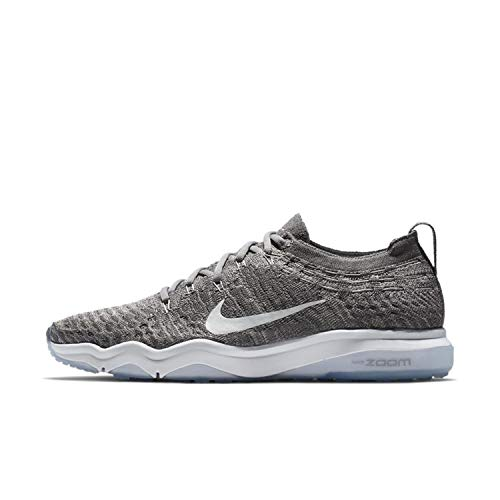 Nike Women's Air Zoom Fearless Flyknit Running Shoes (Gunsmoke/Atmosphere Grey/White, 6.5 M US)