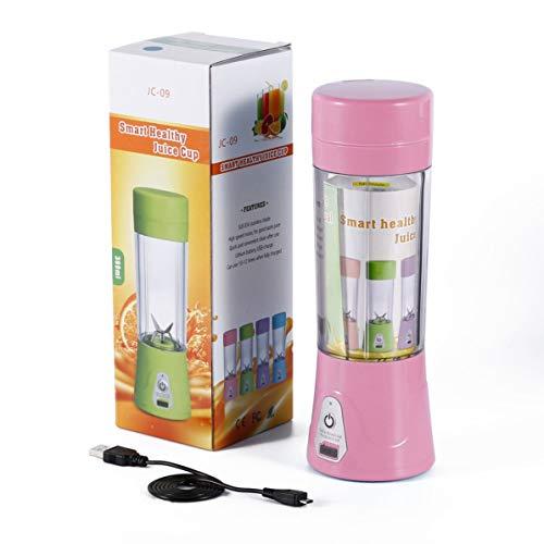 380ml Portable Juice Mixer Bottle New Entsafter USB-Lade bequem zu tragen
