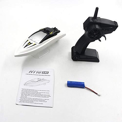 LuaniJP スピードボート2.4GHz RCリモートコントロール高速ボートRCレーシングスピードボートおもちゃ子供用ギフト