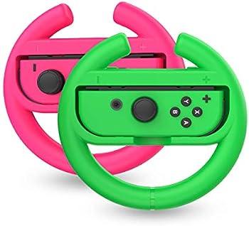 2-Pack Talkworks Steering Wheel Controller for Nintendo Switch